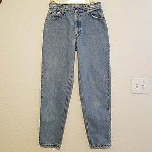 Vintage Levi's 550 Relaxed Fit Tapered Leg Sz 8